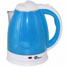 Чайник электрический из нержавеющей стали Domotec MS-5024B Blue
