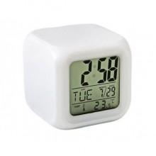 Часы хамелеон MTK CX 508 с термометром, будильником и подсветкой