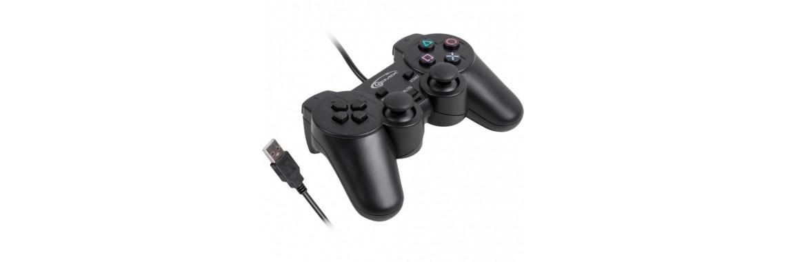 Проводной геймпад Gemix GP-50 TWIN PC Черный