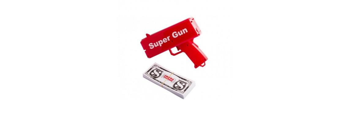 Пистолет Денежный Super Money Gun