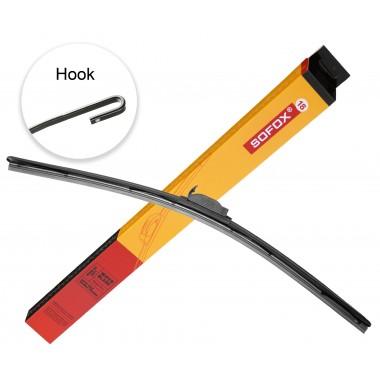 """Щетка стеклоочистителя гибридная  SOFOX   Hook 18"""" 450 мм универсальный дворник (SF450g)"""