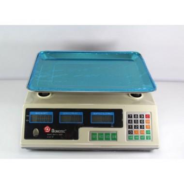 Весы торговые Domotec  MS 228 6V Acs 50kg/5g с калькулятором (D-0228)