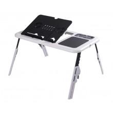Стол-подставка для ноутбука E-Table LD-09 с охлаждением (U-07)