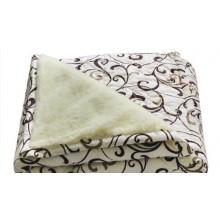Одеяло Polycotton Двуспальное овечья шерсть открытое (T-051228)