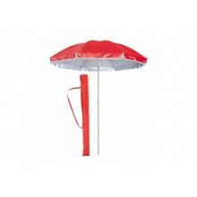 Зонт SUNRISE Anti-UV пляжный садовый с наклоном  красный (PD-135)
