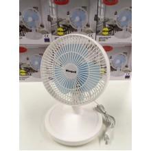 Вентилятор WimpeX  WX909  настільний 200 мм  45 Вт  Білий  (SV-260)