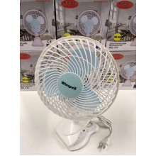 Вентилятор WimpeX  WХ707  настільний  180 мм  50 Вт  Білий  (SV-230)