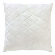 Стеганая подушка  MODA  70x70  Белая  бамбуковое  волокно на замке (T-054803)