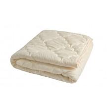 Одеяло MODA Двуспальное Евро  овечья шерсть  Микрофибра  закрытое однотонное (T-054816)